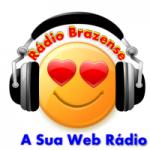 Logo da emissora Rádio Brazense