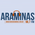 Logo da emissora Rádio Araminas 98.7 FM