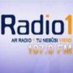 Logo da emissora Radio-1 107.0 FM