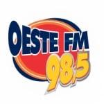 Logo da emissora Rádio Oeste 98.5 FM