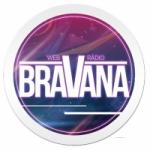 Logo da emissora Rádio Bravana