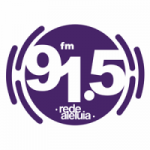 Logo da emissora Rádio Rede Aleluia 91.5 FM