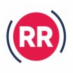 Logo da emissora Rietumu Radio 105.8 FM