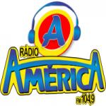 Logo da emissora Rádio América 104.9 FM
