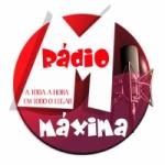 Logo da emissora Rádio Máxima