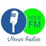 Logo da emissora Utenos Radijas 103.9 FM