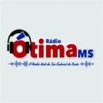 Logo da emissora Rádio Ótima MS