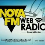 Logo da emissora Rádio Web Nova FM