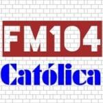 Logo da emissora Rádio FM104 Católica