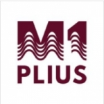 Logo da emissora M-1 Plius 106.2 FM