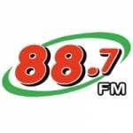 Logo da emissora Radio 88.7 FM