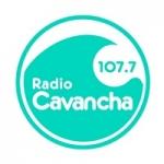 Logo da emissora Radio Cavancha 107.7 FM