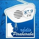 Logo da emissora Radio Pirabeiraba 87.9 FM