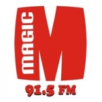 Logo da emissora Radio Magic 91.5 FM
