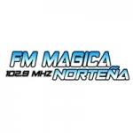 Logo da emissora Radio Mágica Norteño 102.9 FM