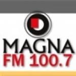 Logo da emissora Radio Magna 100.7 FM