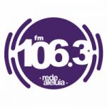 Logo da emissora Rádio Aleluia 106.3 FM