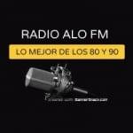 Logo da emissora Radio Alo FM