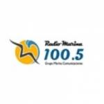 Logo da emissora Radio Marina 100.5 FM