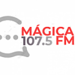 Logo da emissora Radio Mágica 107.5 FM