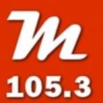 Logo da emissora Radio Mediterránea 105.3 FM
