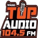 Logo da emissora Rádio Top Áudio 104.5 FM