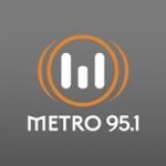 Logo da emissora Radio Metro 95.1 FM