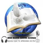 Logo da emissora Web Rádio Adore Adonai