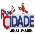 Logo da emissora Rádio Cidade Arara