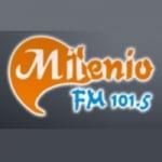 Logo da emissora Radio Milenio 101.5 FM