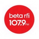 Logo da emissora Beta RFI 107.9 FM