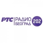 Logo da emissora Beograd RTS 202 101 FM