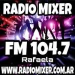 Logo da emissora Radio Mixer 104.7 FM
