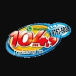 Logo da emissora Rádio Tradicional 104.9 FM