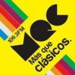 Logo da emissora Radio MQC 106.3 FM