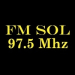 Logo da emissora Radio Sol 97.5 FM