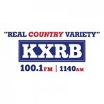 Logo da emissora Radio KXRB 100.1 FM