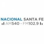 Logo da emissora Radio Nacional Santa Fe 540 AM 102.9 FM