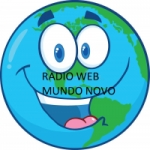 Logo da emissora Rádio Web Novo Mundo