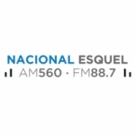 Logo da emissora Radio Nacional Esquel 560 AM 88.7 FM