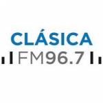Logo da emissora Radio Nacional Clásica 96.7 FM