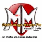 Logo da emissora Rádio Mega Modas FM