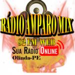 Logo da emissora Rádio Amparo MIx 92 Web