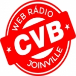 Logo da emissora Rádio CVB Joinville