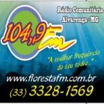 Logo da emissora Rádio Floresta 104.9 FM