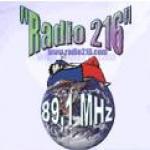 Logo da emissora Radio 216 89.1 FM