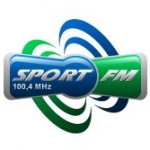 Logo da emissora Sport Radio 100.4 FM
