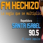Logo da emissora Radio Hechizo 90.5 FM