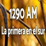 Logo da emissora Radio 1290 AM