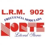 Logo da emissora Radio Norte Litoral 97.5 FM
